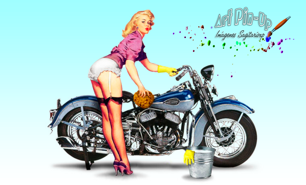 Girl-pin-up-moto-bike