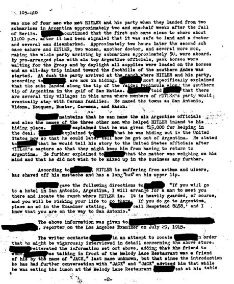 FBI — Adolf Hitler Part 01 of 041