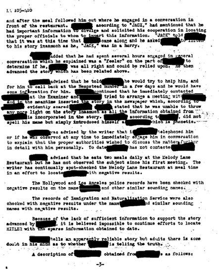 FBI — Adolf Hitler Part 01 of 042