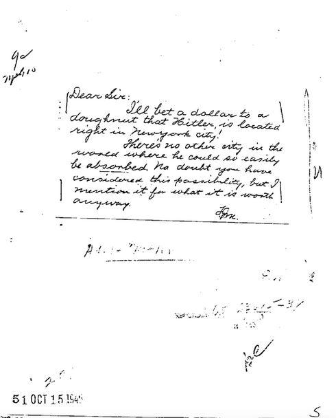 FBI — Adolf Hitler Part 01 of 044